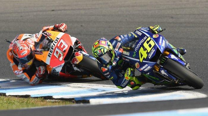 Insiden Valentino Rossi Tendang Marc Marquez Hingga Jatuh pada 2015 Bakal Terungkap