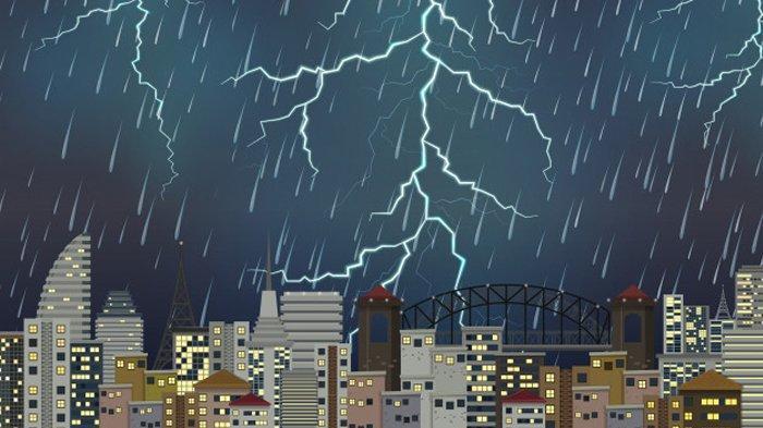 3 Wilayah Berpotensi Hujan Petir & Angin Kencang Info Peringatan Dini BMKG Sabtu 30 Januari 2021