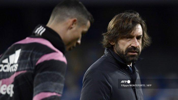 Bianconeri Dilanda Perpecahan Penampilan Juventus Bikin Pirlo Uring-uringan