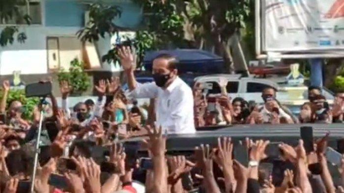 Ke Depannya Kerumunan Jokowi di Maumere Perlu Diantisipasi Tim Presiden Legislator PDIP