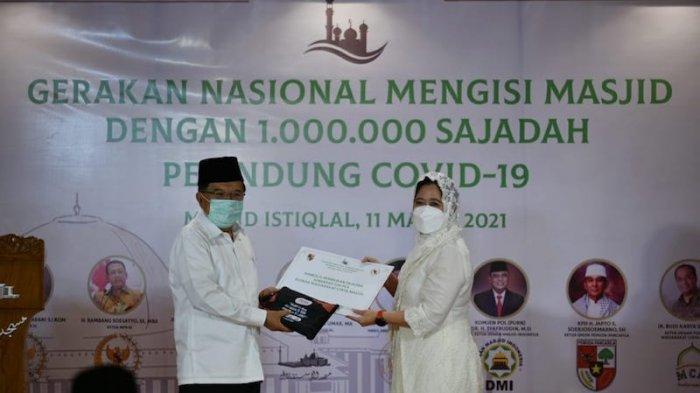 Puan Harap Masyarakat Lebih Tenang Beribadah di Masjid Gerakan 1 Juta Sajadah Pelindung Covid-19