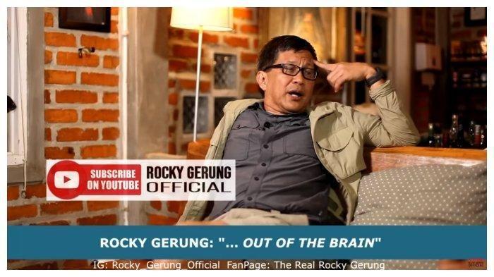 Saya Mendukung Raffi Ahmad Dilaporkan menuju Polisi Rocky Gerung Singgung Terkait Kasus Petamburan